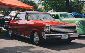 Обои chevrolet, chevy, автомобиль, классика, ретро