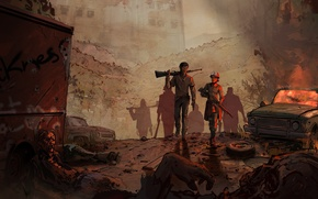 Картинка Telltale Games, Клементина, Clementine, The Walking Dead: Season Three