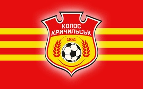 Картинка wallpaper, sport, logo, football, Kolos Krychylsk
