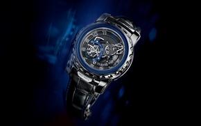 Картинка часы, Ulysse Nardin, Freak, Blue Phantom