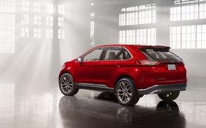Картинка Concept, Ford, Side, Edge, View