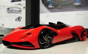 Картинка модель, феррари, Eternita, Ferrari World Design Contest