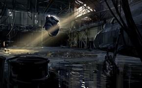 Картинка half-life, Ангар, Valve, Советник Альянса