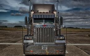 Картинка грузовик, Peterbilt, Петербилт