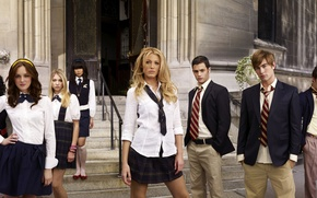 Обои Блейк, сплетница, Вествик, Кроуфорд, Чейз, gossip girl, Лайвли, Мистер, Тейлор, Лейтон, Момсен, актёры