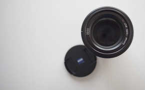 Картинка Sony, lens, Zeiss