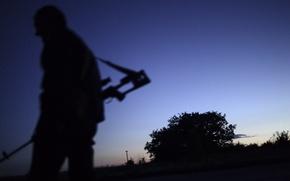 Картинка Небо, Поле, Оружие, Sky, Rifle, Снайпер, Винтовка, Weapon, Field, Sniper, Весло, Paddle