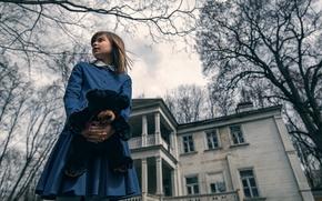 Картинка дом, мишка, девочка, Maxim Guselnikov, The Amityville Horror