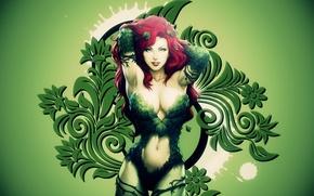 Обои Ядовитый Плющ, Poison Ivy, Batman