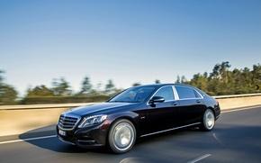 Картинка Mercedes-Benz, Maybach, мерседес, майбах, S-Class, X222