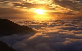 Картинка cloud, nature, sunset
