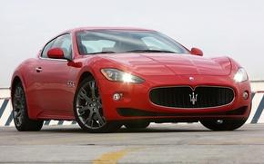 Картинка Maserati, Red, Granturismo
