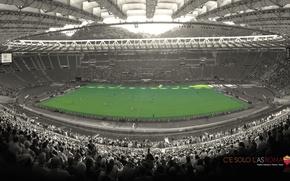 Картинка wallpaper, sport, Italy, stadium, football, AS Roma, Stadio Olimpico