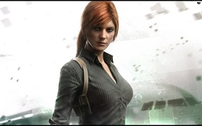 Картинка девушка, игра, girl, game, Splinter Cell Blacklist