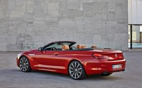 Картинка BMW, кабриолет, 6 серия