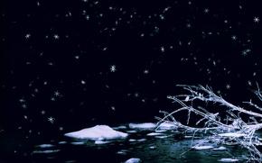 Обои романтика, Зима, Лёд