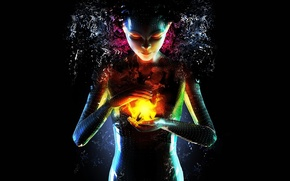 Картинка энергия, девушка, 154