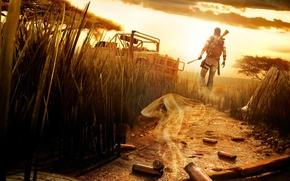 Обои Гильзы, Африка, Far Cry, Мачете, Жара
