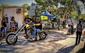 Картинка мотоциклы, мотоцикл, Harley Davidson, байк, motorcycle, байки, Испания., big tvin klub, ispanii, bke