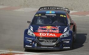 Картинка Peugeot, 208, Фас, RallyCross, WorldRX, Timmy Hansen