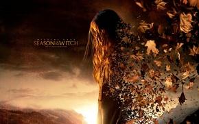 Обои Время ведьм, Season Of The Witch, девушка, листья