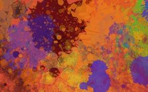 Картинка цвета, брызги, абстракция, краски, colors, splatter, 1920x1080, abstraction