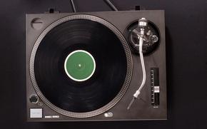 Картинка modern, retro, turntable, vinyl records