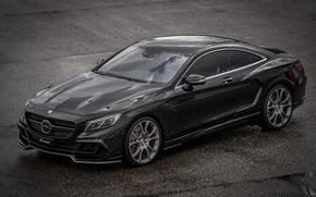 Картинка купе, Mercedes-Benz, мерседес, Coupe, S-Klasse, FAB Design, 2015, C217
