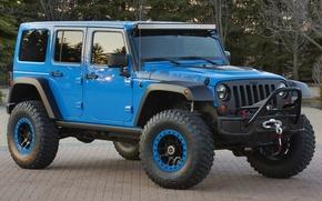 Картинка концепт, Джип, передок, Wrangler, Ренглер, Jeep, Maximum Performance Concept