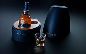 Картинка бутылка, виски, whiskey, 18 years, Chivas Regal