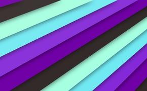 Обои линии, сиреневый, голубой, черный, текстура, material