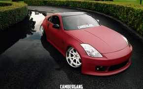 Картинка nissan, 350z, japan, jdm, tuning, custom, low, nismo, stance, z33