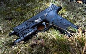 Картинка пистолет, оружие, Smith & Wesson, M&P9