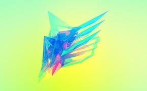 Обои абстракция, фон, цвет, красиво, угол, блур