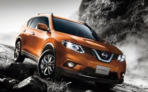 Обои внедорожник, Nissan, X-Trail, х-трейл, ниссан, кроссовер, икстрейл