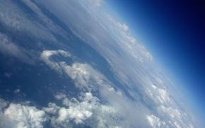 Картинка Облака, атмосфера, наклон