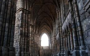 Картинка Шотландия, Эдинбург, Holyrood chapel