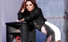 Картинка Look, Style, Cheryl Cole, Brunette, Speaker