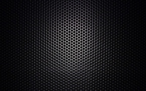 Обои текстура, динамик, макро, чёрное