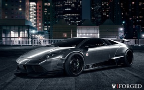 Картинка Lamborghini, Murcielago, Widebody, Liberty, Walk, iForged