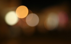 Картинка night, blur, kight, Warmlights