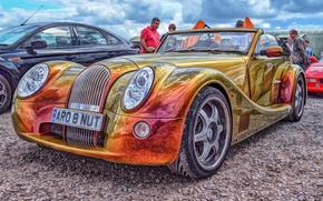Обои Morgan, sports car, hdr, Morgan Aero 8