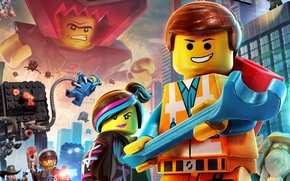 Обои 2014, TT Games, Warner Bros. Interactive Entertainment, The Lego Movie Videogame
