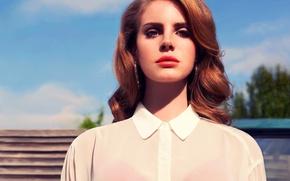 Картинка певица, красная помада, Lana Del Rey, Лана Дель Рей, инди-поп