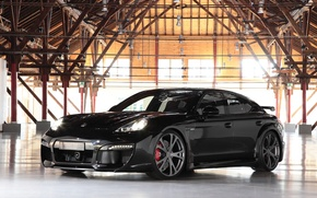 Картинка Porsche, ангар, Panamera, Grand, TechArt