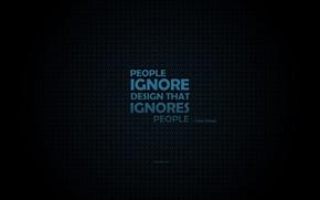 Картинка дизайн, frank chimero, people ignore designe