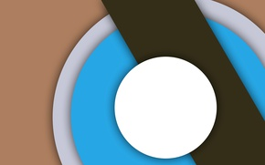 Картинка круги, абстракция, геометрия, design, color, material