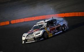 Картинка Mazda, Drift, Tuning, Team, RX-8, Competition, Wheels, Widebody, Sportcar, Spoiler, Red-Bull Racing