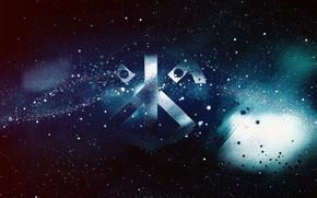 Картинка космос, логотип, space, logo, t1L