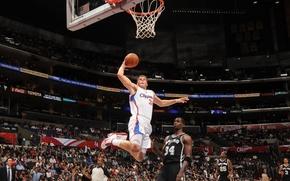 Картинка баскетбол, NBA, данк, Блейк Гиффин